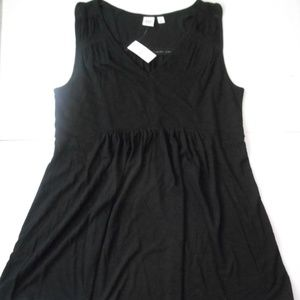 NWT Gap Maternity Sleeveless Top Size S Black